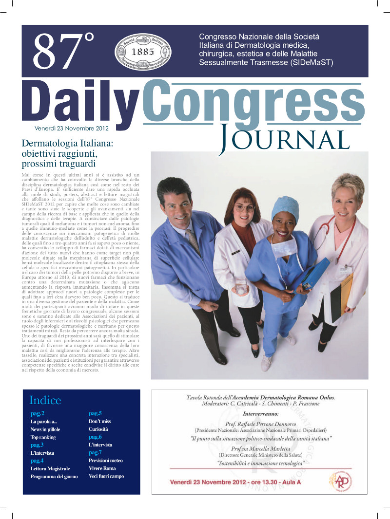 87° Congresso SIDeMaST: giornalino congressuale - numero 2