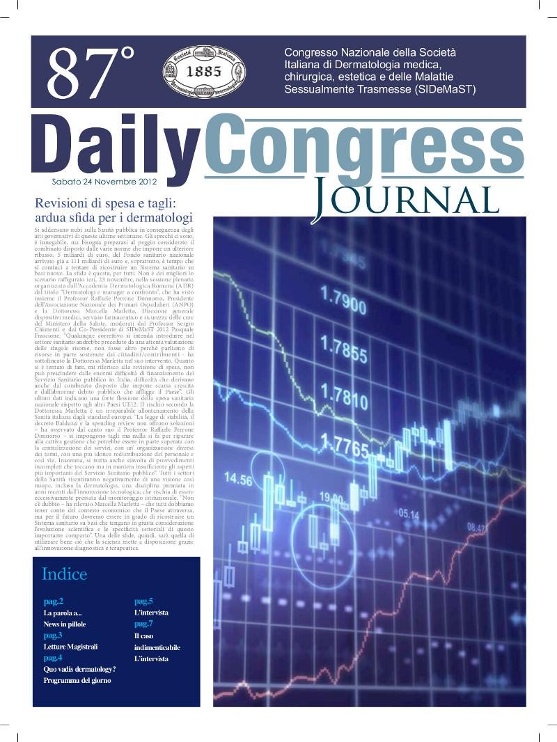 87° Congresso SIDeMaST: giornalino congressuale - numero 3