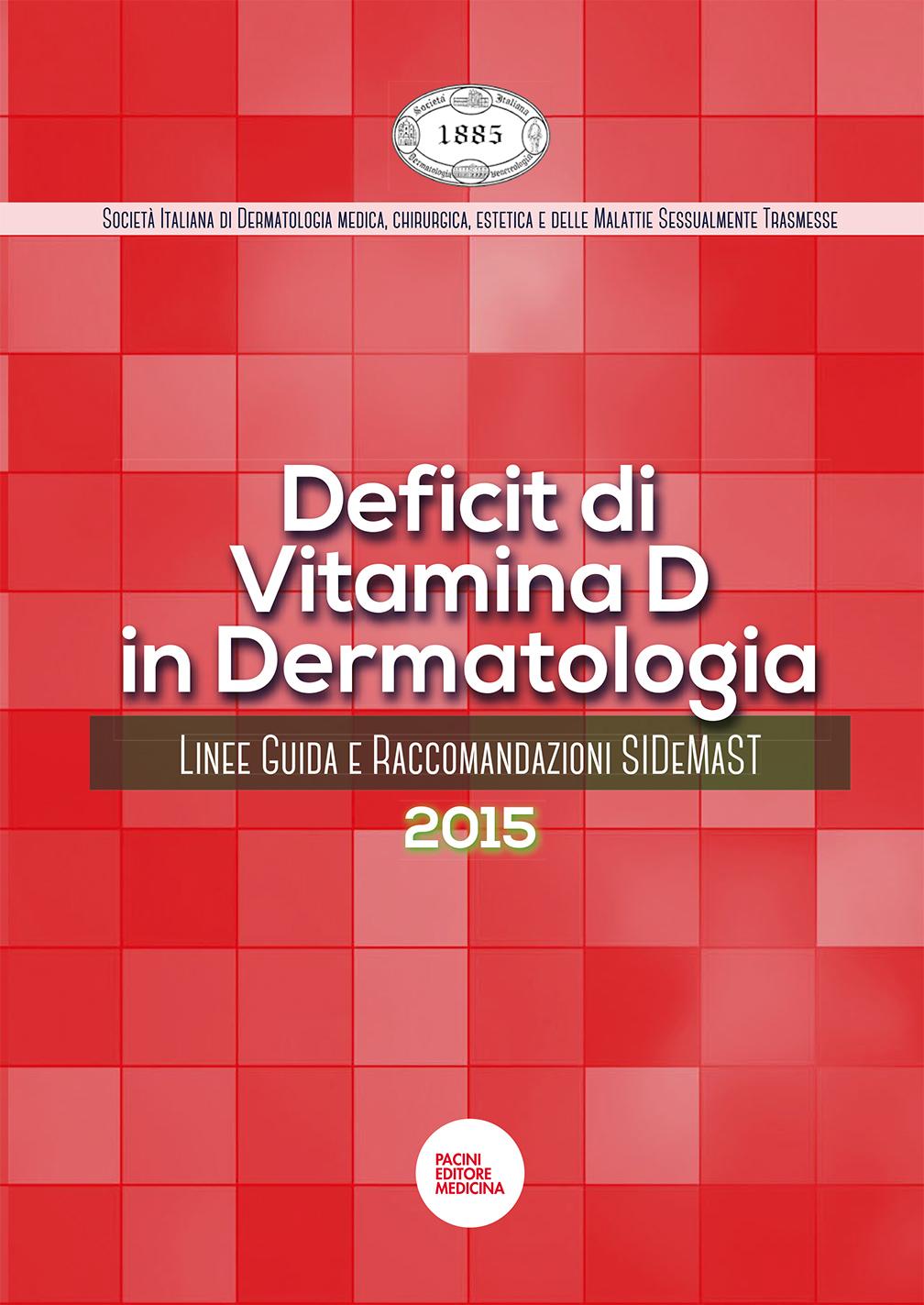 Linee Guida sul deficit di Vitamina D in dermatologia