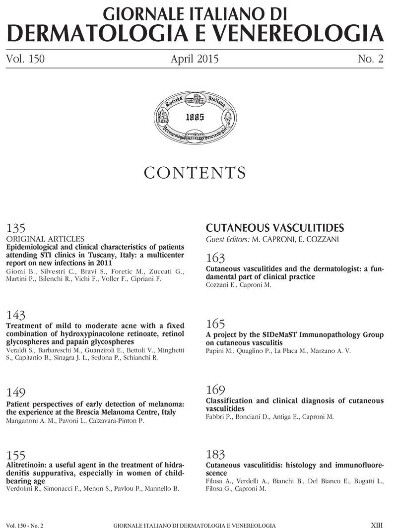 GIDV - Anno 2015 - Volume 150 - Numero 2
