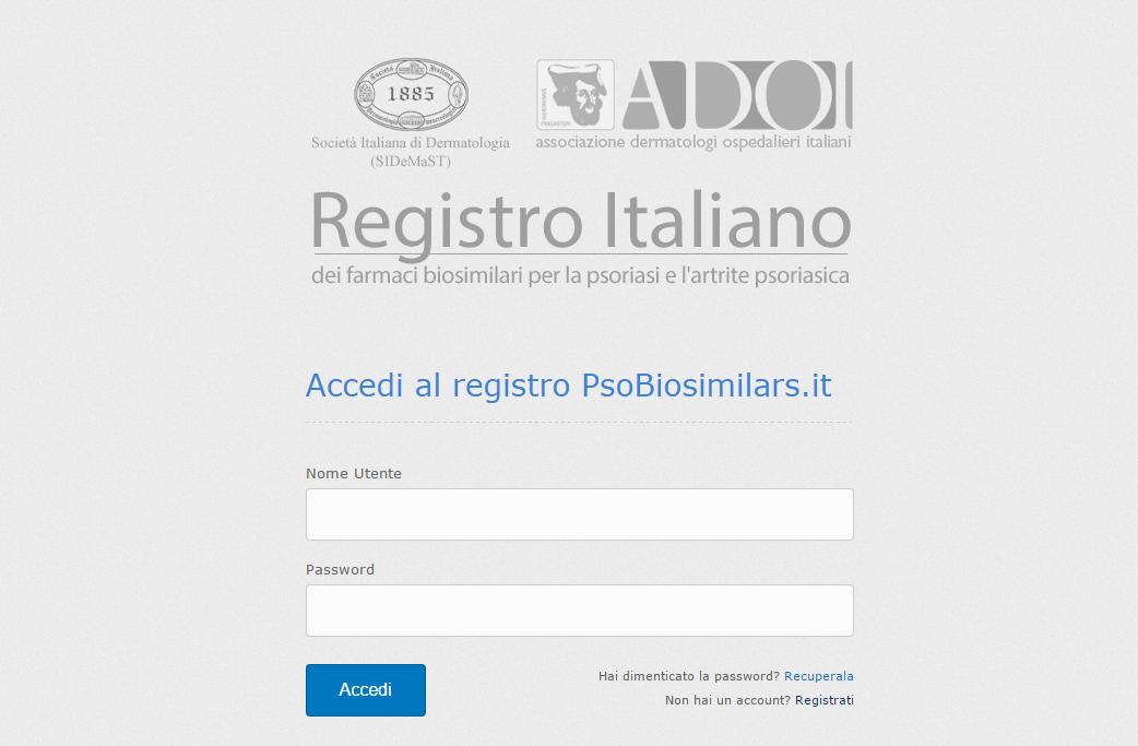 Nuovo Registro Italiano per i Farmaci Biosimilari