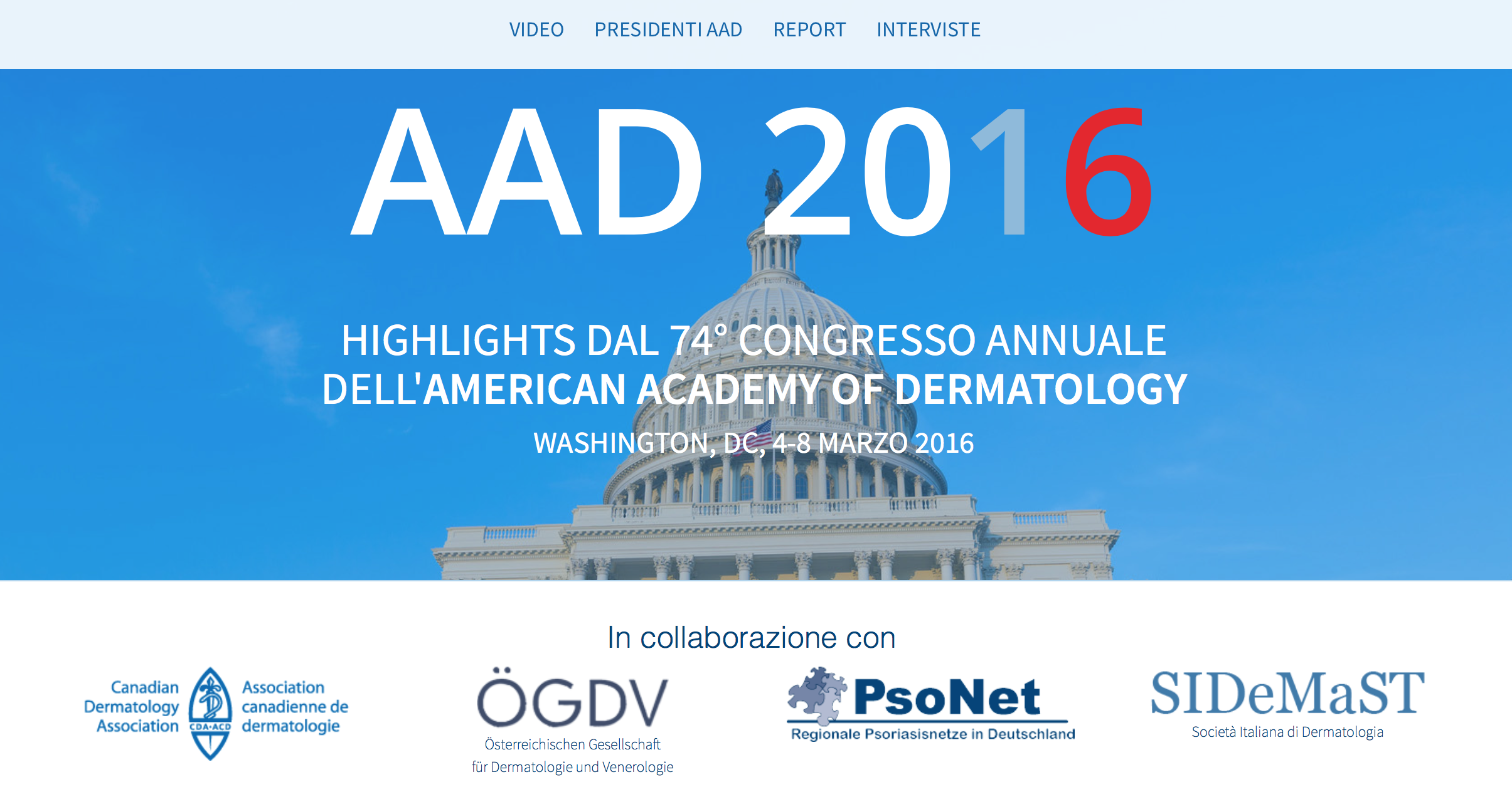 Highlights dal 74° Congresso Annuale dell'American Academy of Dermatology