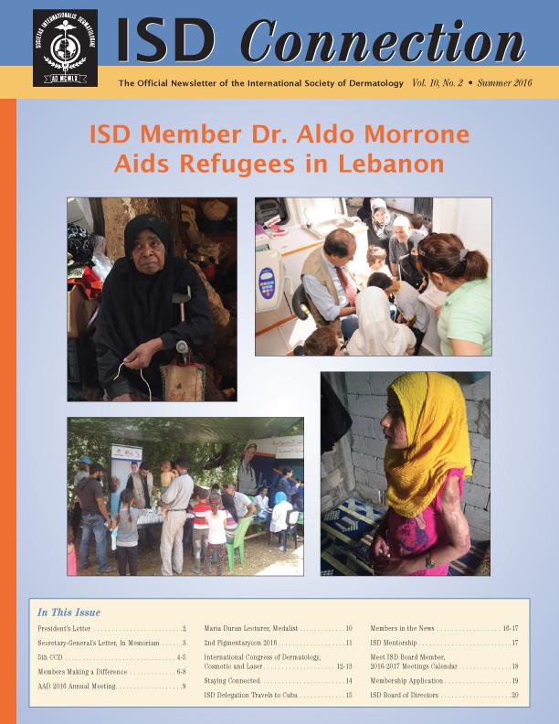 Summer 2016 ISD Newsletter