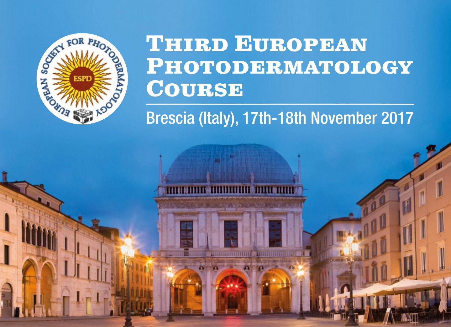 Third European Photodermatology Course
