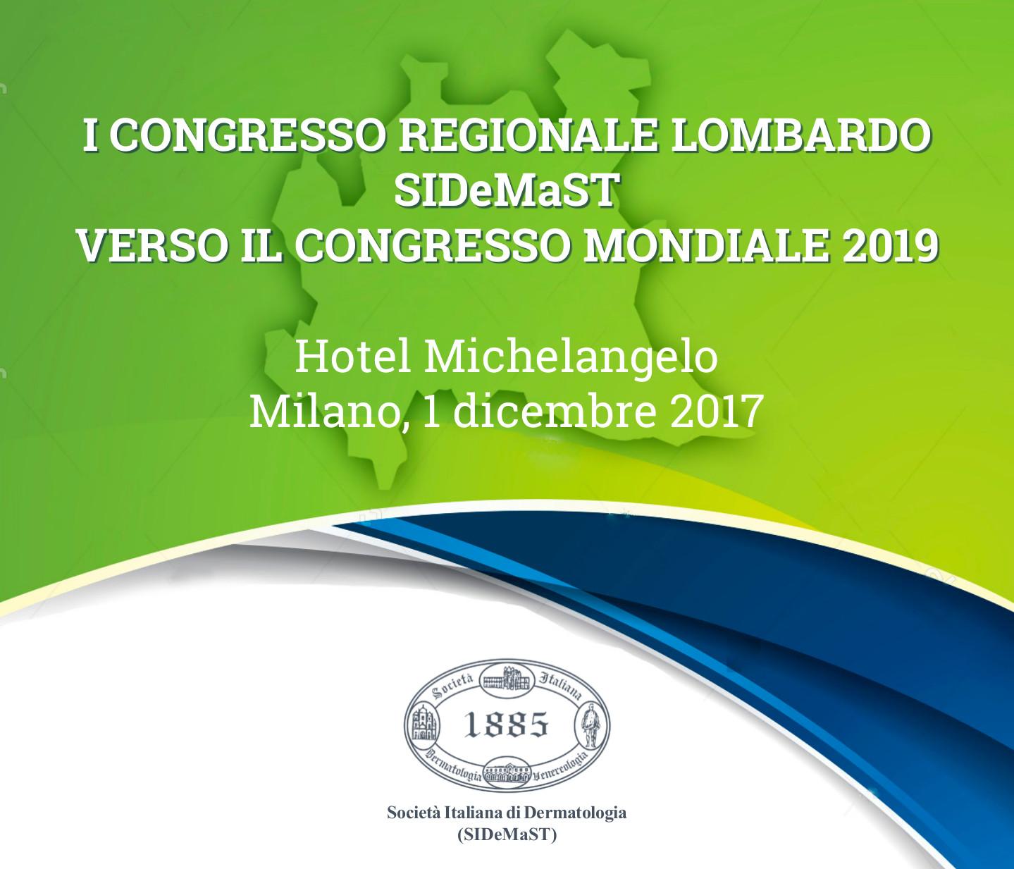 I Congresso Regionale Lombardo SIDeMaST