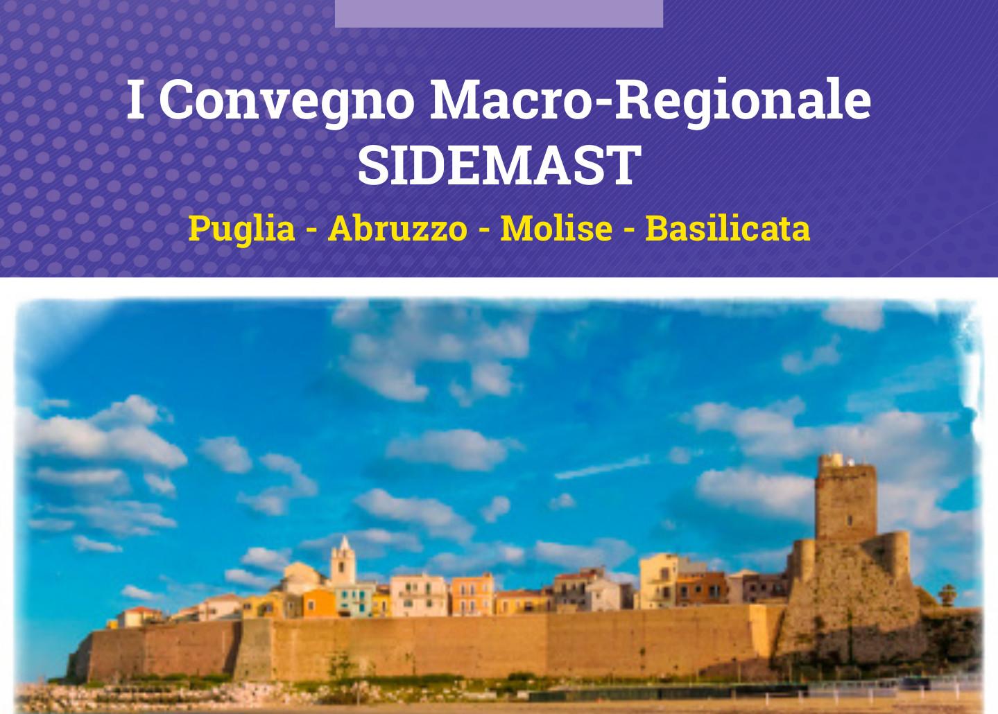 I Convegno Macro Regionale SIDeMaST