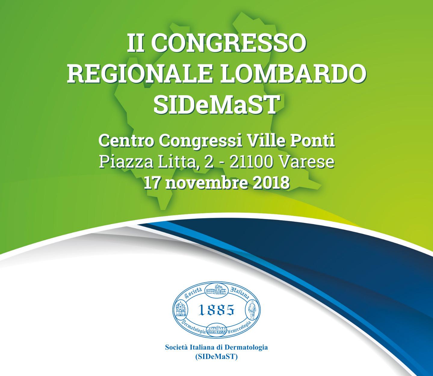 II Congresso Regionale Lombardo SIDeMaST