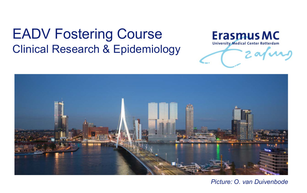 EADV Fostering Course Clinical Research & Epidemiology
